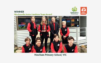 2021 Woolworths Junior Landcare Team Award