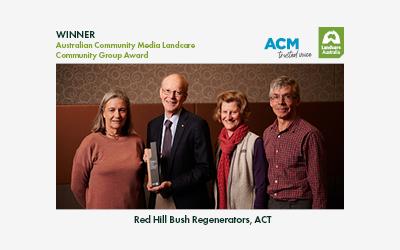 2021 Australian Community Media Landcare Community Group Award Winner