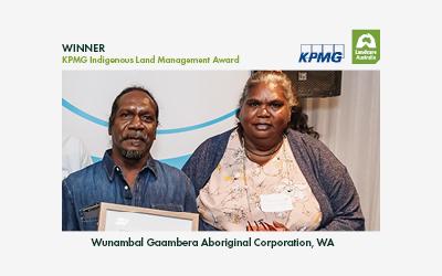 2021 KPMG Indigenous Land Management Winner